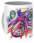 2010 Abstract Drawing Eleven Coffee Mug