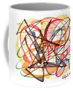 2010 Abstract Drawing Fourteen Coffee Mug