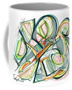 2010 Abstract Drawing Seventeen Coffee Mug