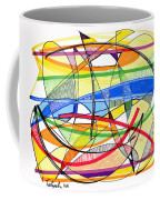 2010 Abstract Drawing Sixteen Coffee Mug