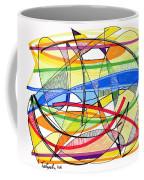 2010 Abstract Drawing Sixteen Coffee Mug