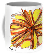 2010 Abstract Drawing Thirteen Coffee Mug