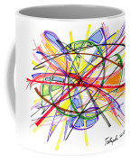 2010 Abstract Drawing Twelve Coffee Mug