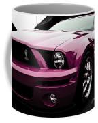 2010 Pink Ford Cobra Mustang Gt 500 Coffee Mug