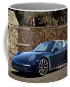 2014 Porsche 911 Targa 4s I Coffee Mug
