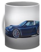 2014 Porsche 911 Targa 4s 'studio' Coffee Mug