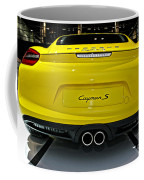 2014 Porsche Cayman S Number 2 Coffee Mug
