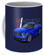 2015 Blue Mustang Coffee Mug