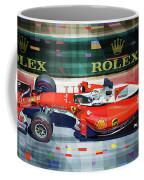 2016 Ferrari Sf16-h Vettel Monaco Gp  Coffee Mug