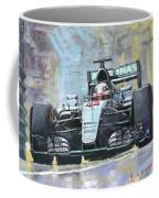 2016 Monaco Gp Mercedes Amg Petronas Hamilton  Coffee Mug
