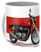 2016 Triumph 1200 Cc Motorcycle Coffee Mug