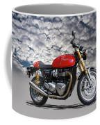 2016 Triumph Cafe Racer Motorcycle Coffee Mug