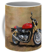 2016 Triumph Motorcycle Coffee Mug