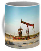 2016_10_pecos Tx_pump Jacks 2 Coffee Mug