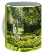 201707040-001 Seated Woman Statue 4x5 Coffee Mug