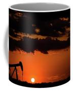 2017_08_midkiff Tx_ Sunset Pump Jack 3 Coffee Mug
