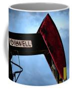 2017_09_midkiff Tx_oil Well Pump Jack Closeup 2 Coffee Mug