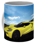 2018 Ford Gt At The Track Coffee Mug
