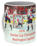 2018 Stanley Cup Champions Washington Capitals Coffee Mug