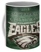 2018 Superbowl Eagles Barn Wall Coffee Mug
