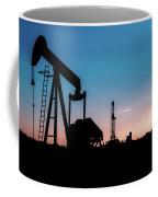 2018_08_malaga Nm_cactus 153 Pump Jack 2 Coffee Mug