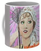 20's Glamour, Parasol Coffee Mug