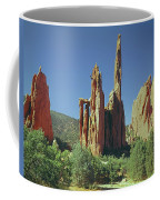 210806-h Spires In Garden Of The Gods Coffee Mug