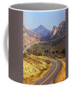 212308 Road To Sheep Creek Canyon Coffee Mug