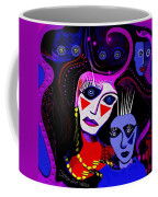 215   Mother And Child  Clowns A  Coffee Mug