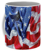 American Flag 40 Coffee Mug