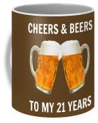 21st Birthday Gifts For Him Her Coffee Mug