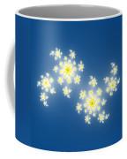 Fractal Floral Pattern Coffee Mug