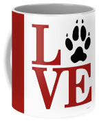 Love Claw Paw Sign Coffee Mug