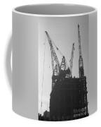 World Trade Center Under Construction 1967 Coffee Mug