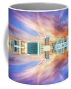 22nd Century Floating Cities Sunrise 01 Coffee Mug