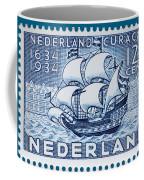 Old Dutch Postage Stamp Coffee Mug