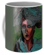 239 - Young Woman In Green Dress 2017 Coffee Mug