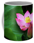 Blossoming Lotus Flower Closeup Coffee Mug