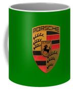 Porsche Label Coffee Mug