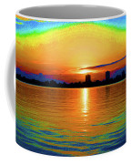 25- Psychedelic Sunrise Coffee Mug