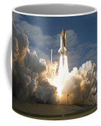 Space Shuttle Atlantis Lifts Coffee Mug by Stocktrek Images