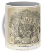 25-year Reign Of William IIi King Of The Netherlands, In 1874, Anonymous, After Hendrik Jan Van Lumm Coffee Mug