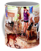 #258 Rruff Dog Park Coffee Mug