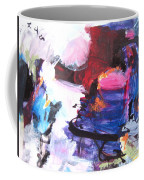 Abstract Landscape Painting Coffee Mug