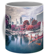 Charlotte North Carolina Cityscape During Autumn Season Coffee Mug