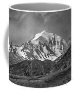 2d07508-bw High Peak In Lost River Range Coffee Mug