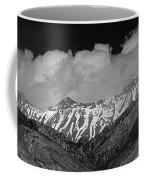 2d07509-bw High Peaks In Lost River Range Coffee Mug
