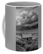2d07515-bw Abandoned Cabin Coffee Mug