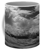 2d07517-bw Storm Over Lost River Range Coffee Mug