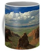 2d10338 Thunderhead Over Independence Monument Coffee Mug